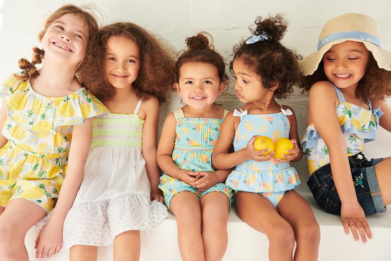 Kids fashion in Dalma Mall
