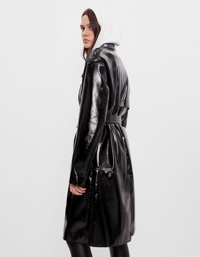 90s trench coat