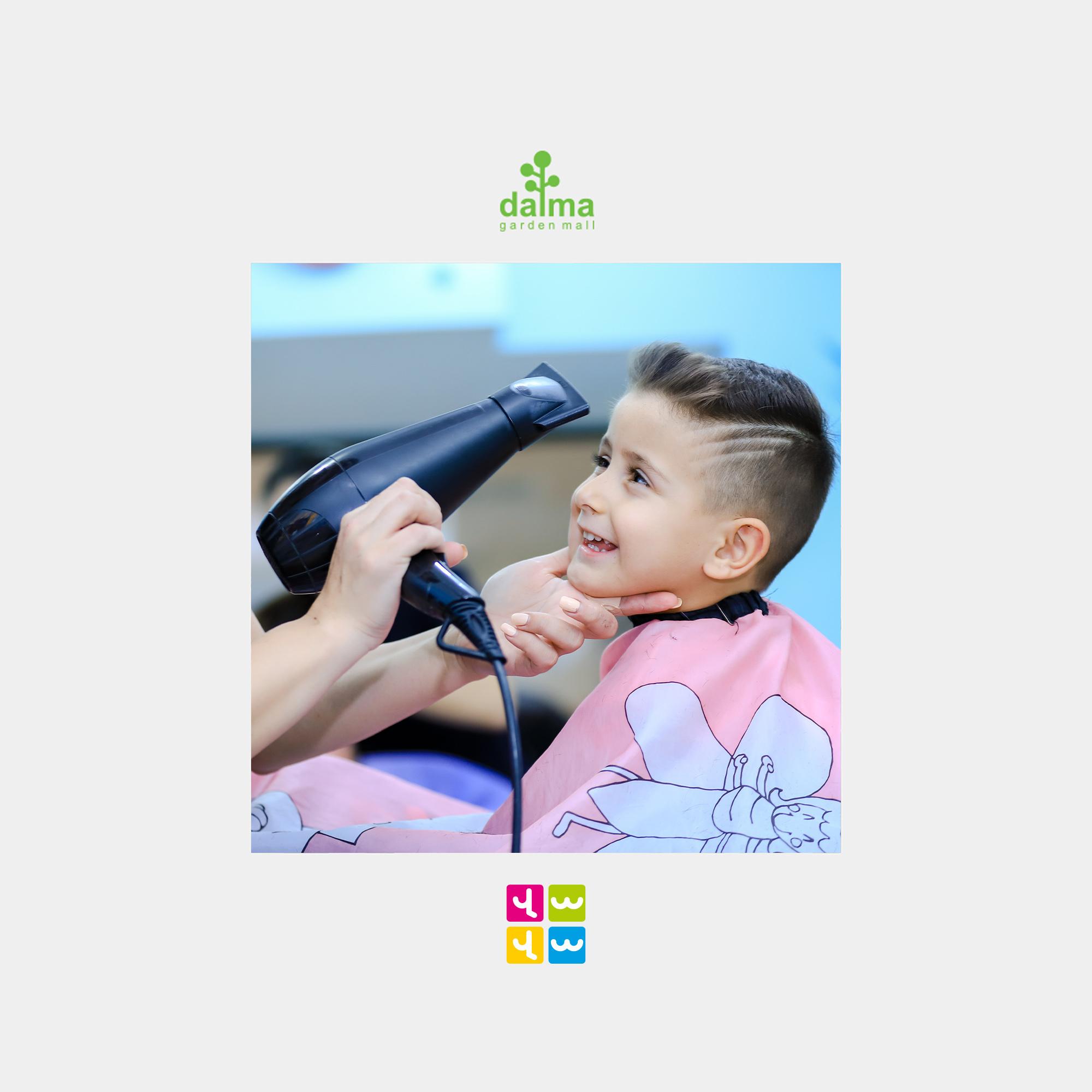 VAVA children's beauty salon opening soon in Dalma